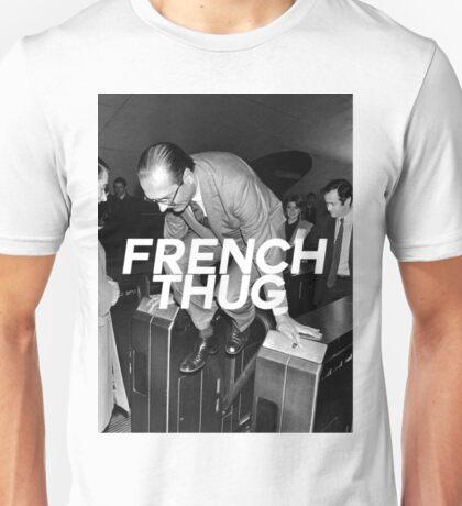"Jacques Chirac ""French Thug"" Unisex T-Shirt"