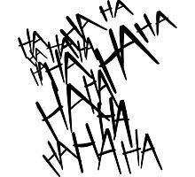 Jared Leto's Joker laugh Photographic Print