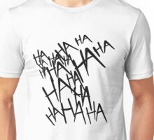 Jared Leto's Joker laugh Unisex T-Shirt