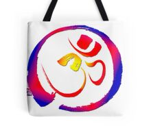 Aum - Om with Enso Zen-circle  Tote Bag