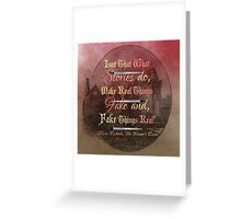 The Winner's Curse - Stories Greeting Card