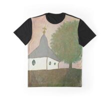 Little Chapel on the Hill Graphic T-Shirt