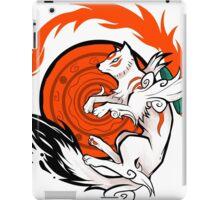 White Wolf Goddess iPad Case/Skin