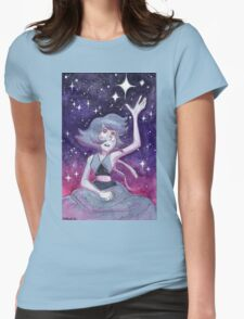 Where is Home?  Steven Universe Lapis Lazuli Womens Fitted T-Shirt
