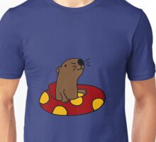 Cool Funny Otter Tubing Unisex T-Shirt