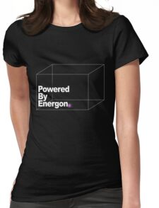 Powered By Energon Womens Fitted T-Shirt