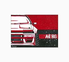 Toyota AE86 red Monochromatic Painting Unisex T-Shirt