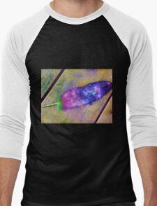 Space Feather  Men's Baseball ¾ T-Shirt