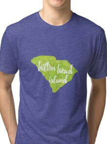 Hilton Head Island, South Carolina Tri-blend T-Shirt