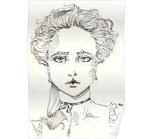rococo girl, Marie Antoinette Poster