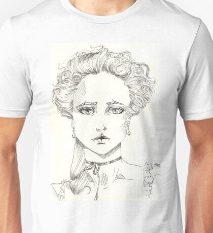 rococo girl, Marie Antoinette Unisex T-Shirt