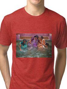 Many Smiles Tri-blend T-Shirt