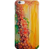 Flowing Grapes iPhone Case/Skin