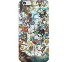 Celestial Map with Constellations iPhone Case/Skin