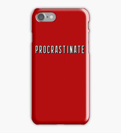Netflix - Procrastinate iPhone Case/Skin