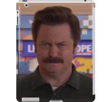 Ron Swanson iPad Case/Skin