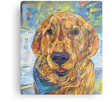 Golden retriever painting - 2016 Metal Print