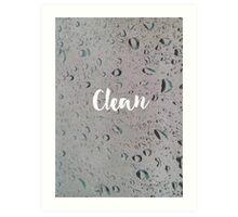 Clean Art Print