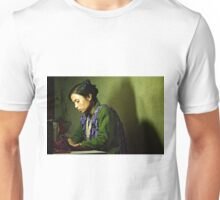She Sews into the Night Unisex T-Shirt