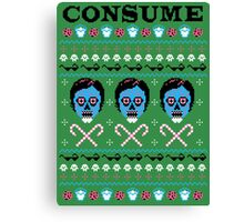 Obey Christmas Canvas Print
