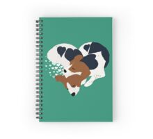 Love Pups Spiral Notebook
