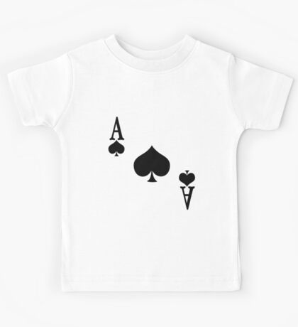 Ace of Spades Kids Tee