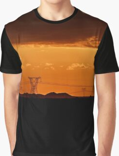 Moody Sunset, Free State, South Africa Graphic T-Shirt