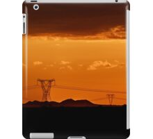 Moody Sunset, Free State, South Africa iPad Case/Skin