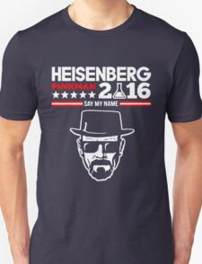 HEISENBERG PINKMAN 2016 SAY MY NAME Unisex T-Shirt