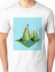 Low poly Landscape Unisex T-Shirt