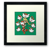 Linkle the Cucco Queen  Framed Print