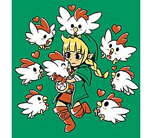 Linkle the Cucco Queen  Photographic Print