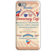 Bernies Democracy Cafe- No Kochroaches in this Kitchen! iPhone Case/Skin