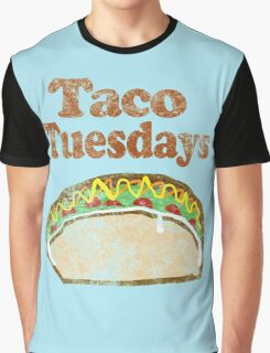 Vintage Taco Tuesday Graphic T-Shirt