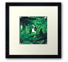 tropic green  Framed Print