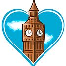 Big Ben Heart by pda1986