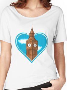 Big Ben Heart Women's Relaxed Fit T-Shirt