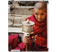 Tibetan Buddhist Nun iPad Case/Skin