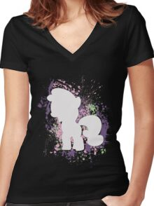 Sweetie Belle Women's Fitted V-Neck T-Shirt