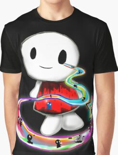 Tear Triping Graphic T-Shirt