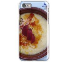 Creme Catalana iPhone Case/Skin