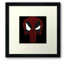 DEAD PUNISHER Framed Print