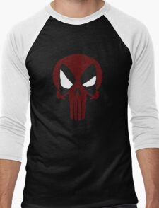 DEAD PUNISHER Men's Baseball ¾ T-Shirt