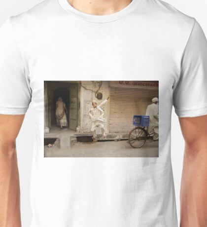 Then I asked him to jump... Unisex T-Shirt