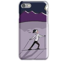 MOONLIGHT SKI iPhone Case/Skin
