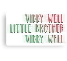 Viddy Well - A Clockwork Orange Canvas Print