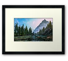 Dreaming worlds Framed Print