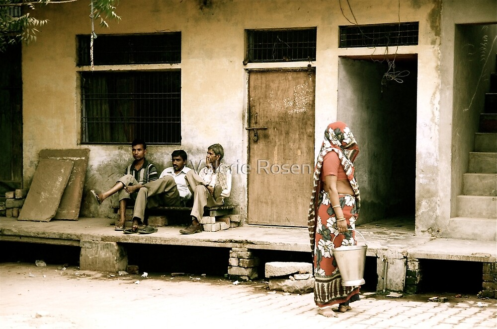 Three Men and a Sari by Valerie Rosen