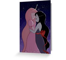 Princess Bubblegum & Marceline the vampire queen Greeting Card