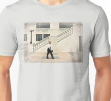 Walking, Château Laurier, Ottawa Unisex T-Shirt